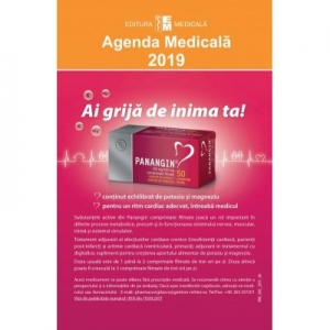 Noua editie a Agendei Medicale 2019 este pe Libraria Delfin